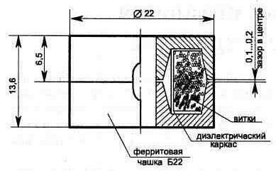 Конструкция катушки фильтра