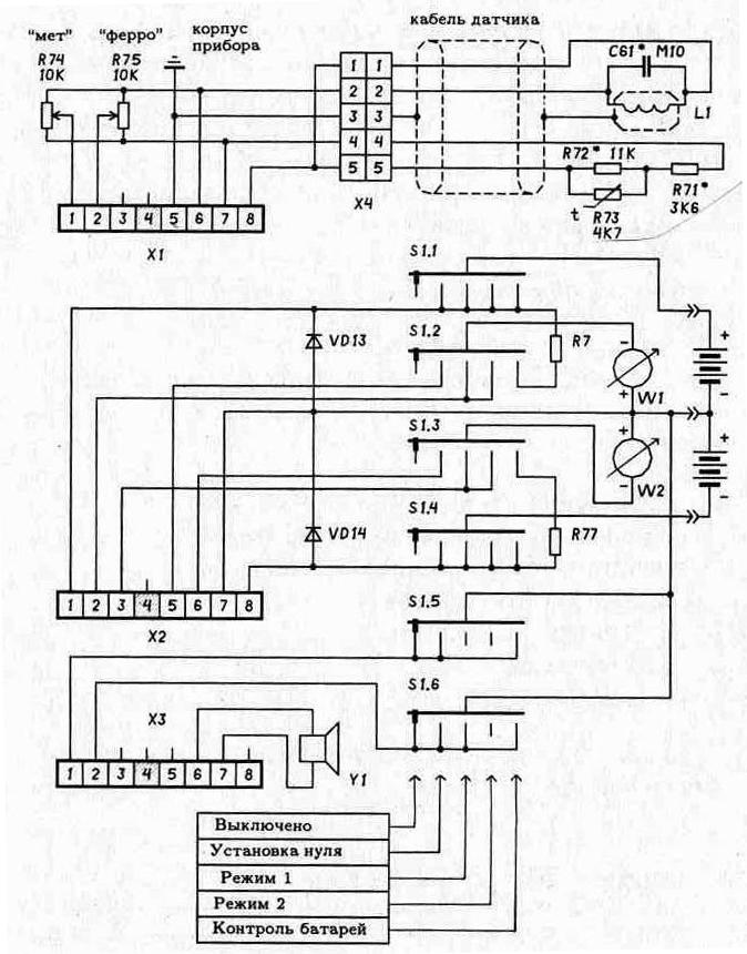 Блок-схема для массива