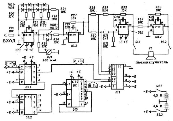 P2b b схема принципиальная